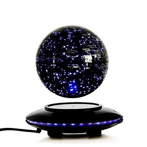 mejor calidad mejor precio negro 20x14cm ZGQP Suspensión magnética terrestre de 6 6 6 Pulgadas suspendida en el Aire con Plataforma de Control táctil y Luces LED de decoración Creativa (Color   negro, Talla   20x14cm)  elige tu favorito