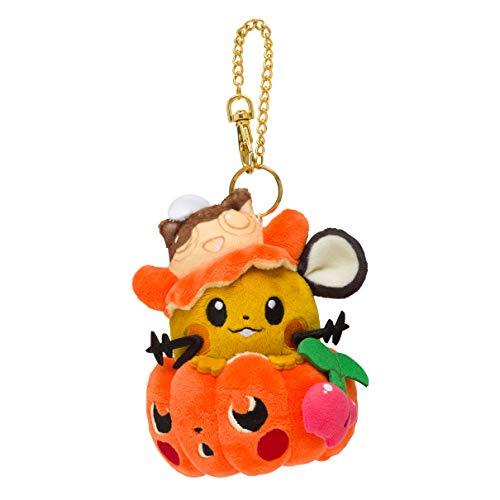 Pokemon Center Original Mascot We are Team Treat! Halloween Dedenne 908 (Pokemon Center Hat)