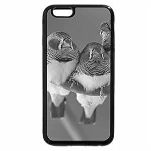 iPhone 6S Plus Case, iPhone 6 Plus Case (Black & White) - Zebras birds