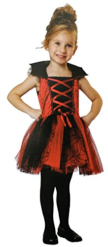 Totally Ghoul Lil' Vampiress Costume, Size: Toddler, 2-4 years (Toddler Vampiress Costumes)