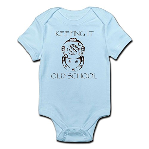 CafePress OLD SCHOOL Body Suit - Cute Infant Bodysuit Baby (Old School Baby Clothes)