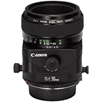 Canon TS-E 90mm f/2.8 Tilt & Shift Manual Focus Telephoto Lens - International Version (No Warranty)