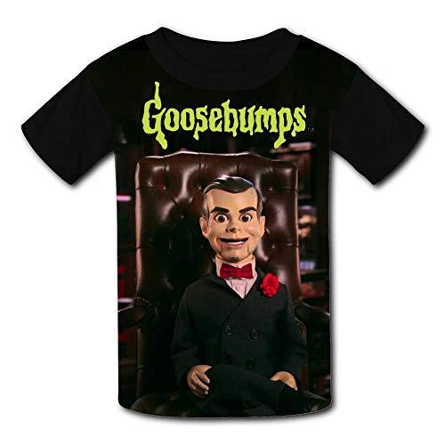 GAISMZ SLA-ppy G-oosebumps T-Shirts for Kids 3D Short Sleeve Tops Tee