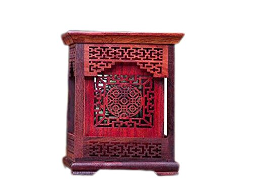 1pc Chinese Writing Brush Pot Red Rosewood Pen Pot Pen Rest by Charming China