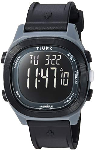 - Timex Men's TW5M19000 Ironman Transit Full-Size Black/Negative Resin Strap Watch