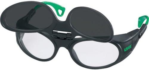 UVEX社 UVEX 二眼型遮光メガネ ウベックス 9104 遮光度#5 9104045