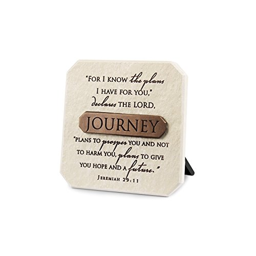 Lighthouse Christian Products Journey Plaque