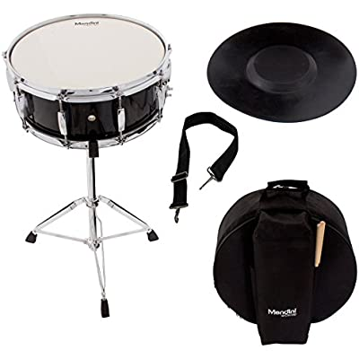 mendini-student-snare-drum-set-with