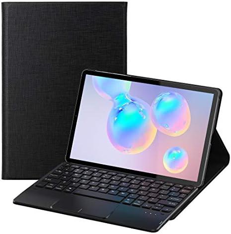 کیبورد هوشمند Samsung Galaxy Tab S6 - بدنه آلومینیومی با اتصال مگنتی و دارای تاچ پد با استند قابل تنظیم در زاویه دلخواه