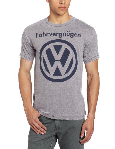 Volkswagen Men's VW Logo, Platinum Heather, Large