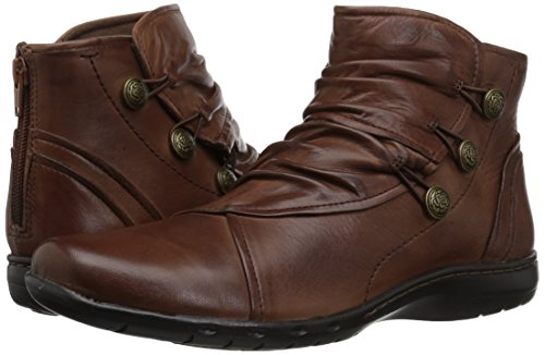 Rockport Cobb Hill Women's Cobb Hill Penfield Boot, Almond Leather, 6.5 W US by Rockport (Image #6)