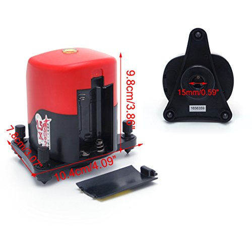 (Portable YD-810 2 Cross Red Line Self-leveling Horizontal Vertical Measuring)