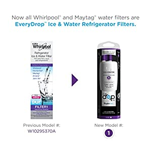 EveryDrop by Whirlpool Refrigerator Water Filter 1 (Pack of 1)