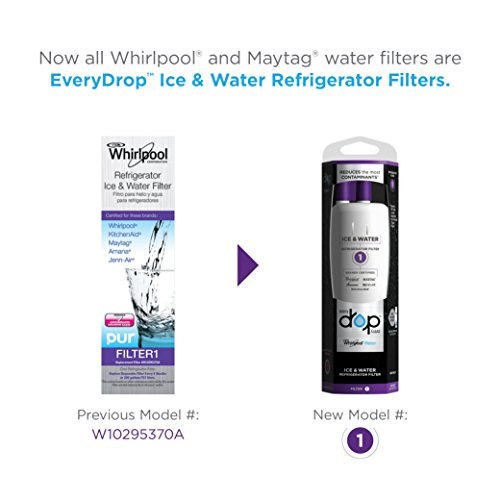 Large Product Image of EveryDrop by Whirlpool Refrigerator Water Filter 1 (Pack of 1)