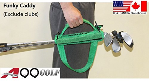 C12 A99 Golf Funky Caddy Golf Bag Driving Range Carrier Sleeve Light with velcro by A99 Golf (Image #7)