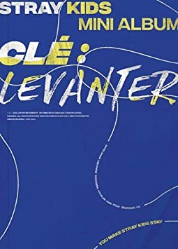 Cl/é ver. Normal ver. JYP Stray Kids Album+Pre-Order Benefit+Folded Poster+Extra Photocards Set Cl/é : Levanter
