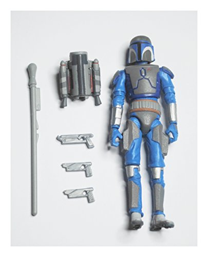 Star Wars Clone Soldiers - Star Wars 2010 Clone Wars Animated Action Figure CW No. 29 Mandalorian Trooper