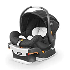The #1-rated Chicco KeyFit Infant Car Seat is engineered with innovative features that make it the easiest infant car seat to install simply, accurately, and securely every time. The KeyFit's stay-in-car base has a ReclineSure leveling foot a...