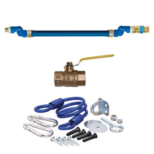 Dormont 16100KIT2S48 Safety System Moveable Gas Connector Kit