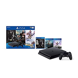 Best Epic Trends 41a0nbNXYGL._SS300_ Newest Sony Playstation 4 PS4 1TB HDD Gaming Console Bundle with Three Games: The Last of Us, God of War, Horizon Zero…