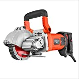 1800W Wall Slotting Machine With 5 Disc Depth Control, Dust-Free...
