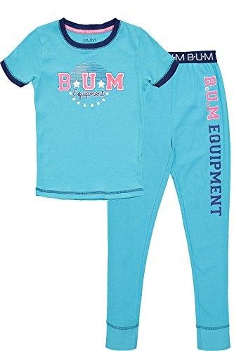 B.U.M Equipment Girls Snug Fit Short Sleeve Shirt & Pants Co