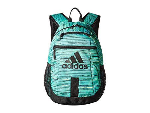 adidas Unisex Creator Backpack (Little Kids/Big Kids) Hi-Res Green Visionary/Black One Size