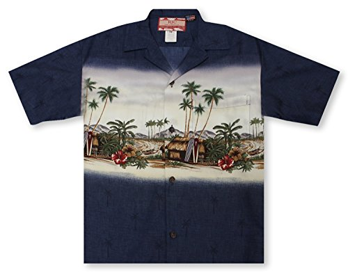 RJC Harbor Hut Hawaiian Shirt - Hut Harbor