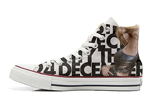 Star Personalizados Handmade Pretty Unisex producto Zapatos Converse All Girls C51wxtR