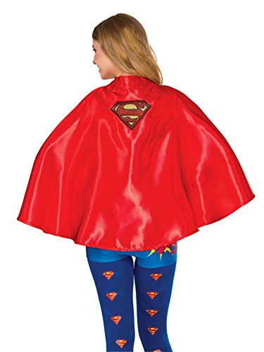 Rubie's Costume Co Women's DC Superheroes Cape, Supergirl]()