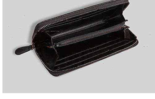 Main Sac Waaxlongtemps La Tissé black Zipper À Black BqxTwP