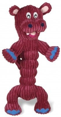 Charming Corduroy Zonkers Hippo Pet Squeaky Toy Review