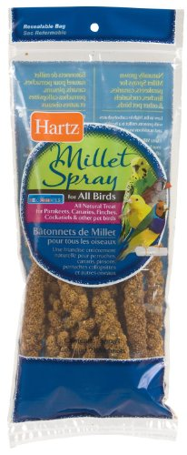Hartz Nutrition Millet Spray for Birds 7 Ct Pack (Pack of 6) Total 42 Sprays, My Pet Supplies