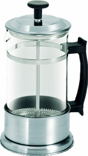 G&H Tea Services 2-Cup Dimbula Tea and Coffee Press Pot, Stainless Steel (Tea Press 2 Cup compare prices)