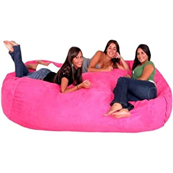 Amazon Com Cozy Sack 8 Feet Bean Bag Chair X Large Hot