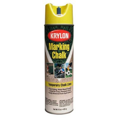 Krylon 5895 15 Oz Yellow Marking Chalk Spray Paint by Krylon