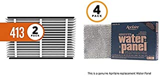 product image for Aprilaire 413 Replacement Air Filter for Aprilaire Whole Home Air Purifiers, Healthy Home Allergy Filter, MERV 13 (Pack of 2) + 35 Replacement Water Panel for Aprilaire Whole House Humidifier Models