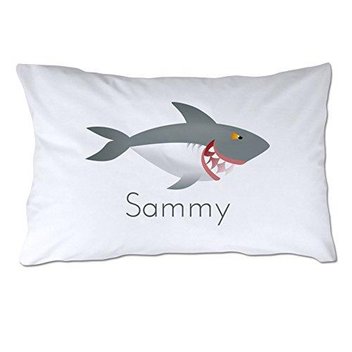Tiburon Queen Bed - Personalized Shark Pillowcase