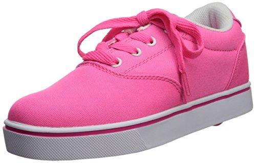 Heelys Launch Skate Shoe (Little Kid/Big Kid),Neon Pink,4 M US Big Kid