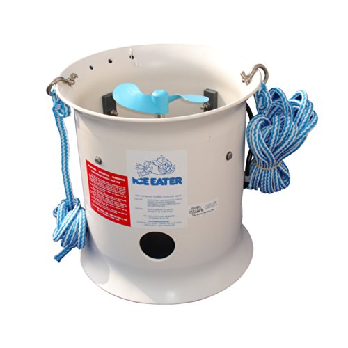 THE POWERHOUSE Powerhouse 1HP Ice Eater w/50' Cord - 115V / P1000-50-115V / by Ice Eater by The Power House