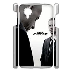 DIY Printed Paul Walker hard plastic case skin cover For Google Nexus 5 SNQ621851