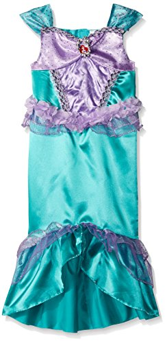 [Disguise Ariel Classic Disney Princess The Little Mermaid Costume, Small/4-6X] (The Little Mermaid Costume)