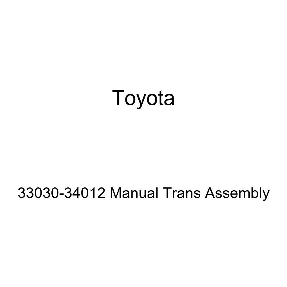 Toyota 33030-34012 Manual Trans Assembly