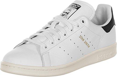 Noir Stan Footwear Blanc Footwear White Multicolore Femme White Unique Taille Black adidas Core Smith Mocassins Noir zwqnd7p