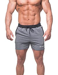 Jed North Men's Workout Gym Sweat Shorts Bodybuilding Running Shorts