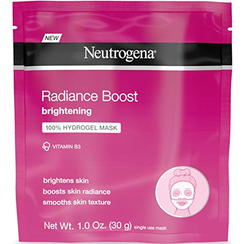 Neutrogena Radiance Boost Brighten Hydro Mask 1 Ounce 12 Pieces 30ml