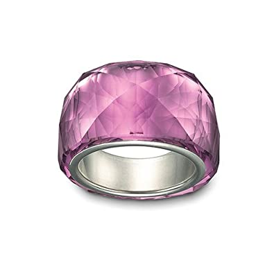 6626229112f6 Amazon.com  Swarovski Nirvana Petite Amethyst Ring - Size 7  Jewelry