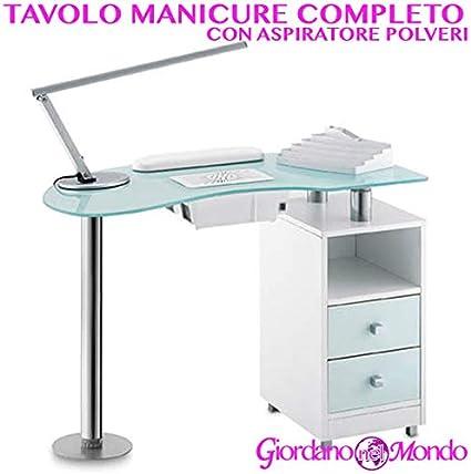 Mesa de manicura Profesional Completo de accesorios: aspirador de ...