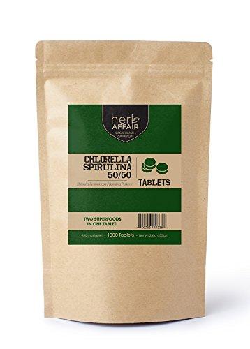 Herb Affair Chlorella Spirulina Tablets