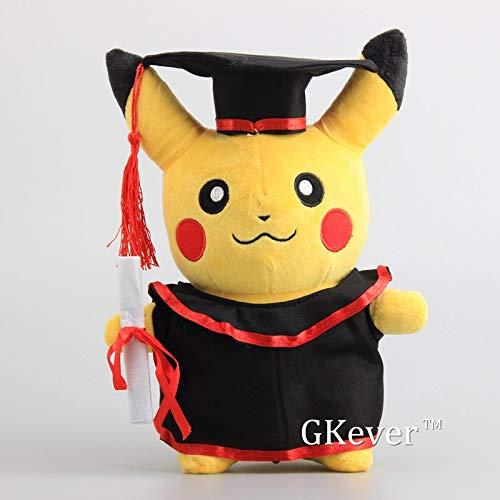 PampasSK Stuffed & Plush Animals - Pikachu with Graduate Clothes Cosplay Stuffed Dolls Cute Rilakkuma Graduate Gift Plush Toys 11